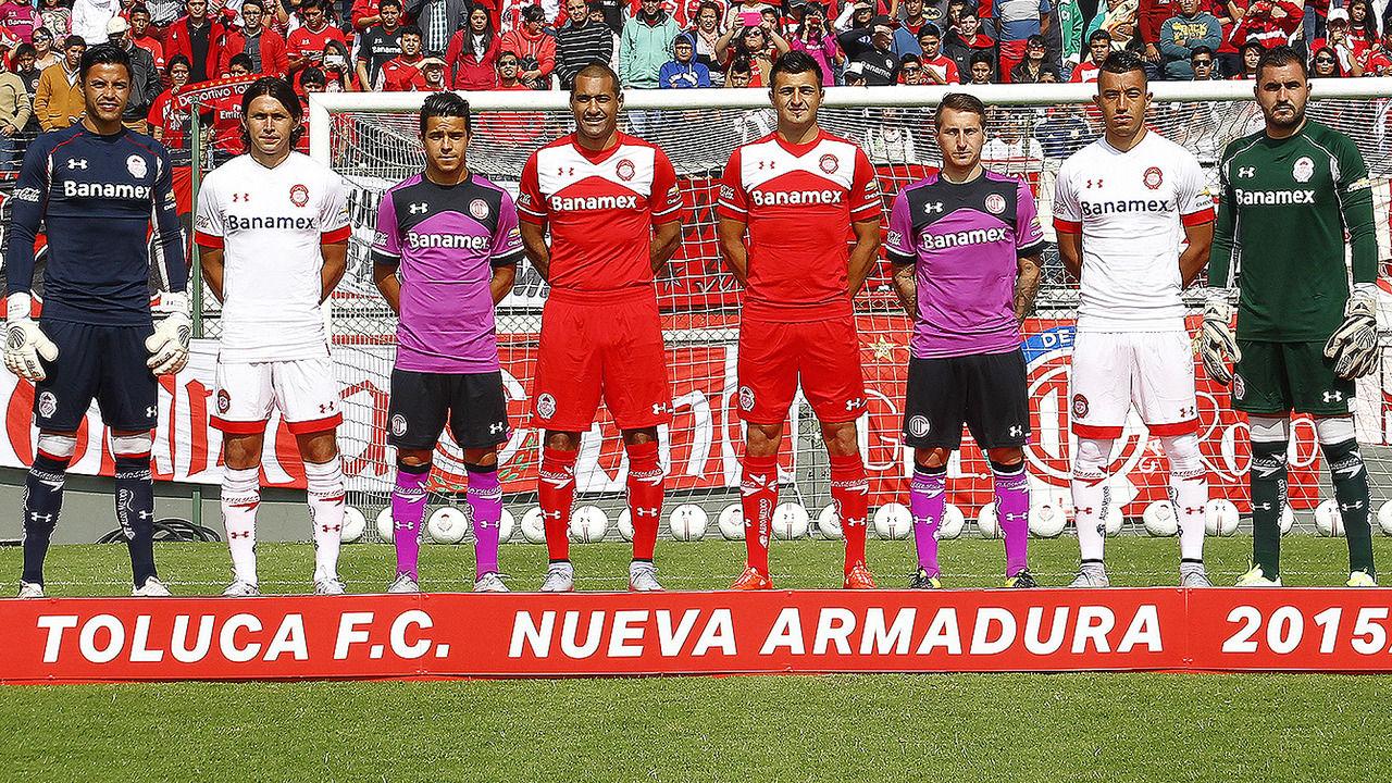 ... Armour, que usarán para los torneos Apertura 2015 y Clausura 2016